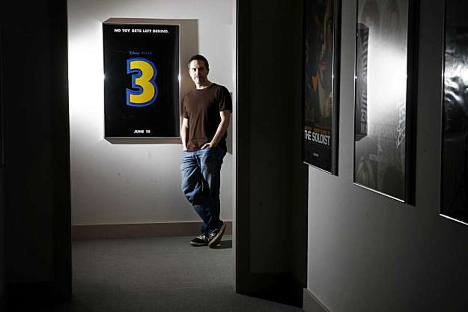 Just weeks before his four year efforts on Toy Story 3 are revealed in theaters, Lee Unkrich, director of the animated movie, stands for a portrait at Skywalker Ranch on Thursday April 15, 2010 in Nicasio, Calif. Photo: Mike Kepka, The Chronicle