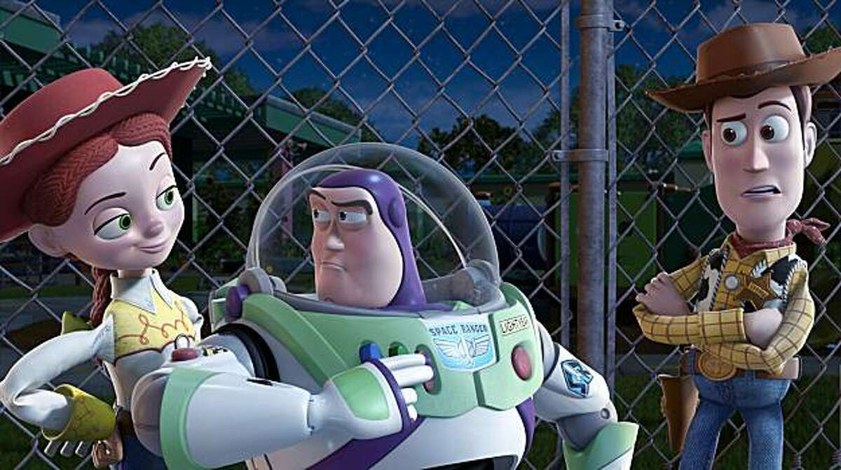 TOY STORY 3 (L-R) Jessie, Buzz Lightyear, Woody ©Disney/Pixar. All Rights Reserved.