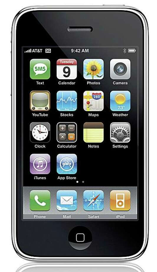 (NYT56) UNDATED -- June 18, 2008 -- CIR-SMARTPHONE -- The next-generation iPhone in an undated photo. The 3G iPhone will be available on July 11. While the Internet has opened up more choices for how consumers get information, entertainment and bargains, cellphone carriers have managed to create a nation of customers who have little choice but to shrug and accept whatever conditions their networks impose. (Apple Inc. via The New York Times) Photo: APPLE INC., NYT