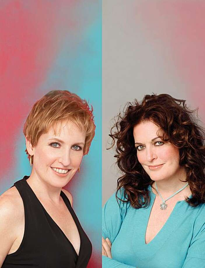 Sisters and singers Ann Hampton Callaway, right, and Liz Callaway Photo: Bill Westmoreland, Courtesy Rrazz Room