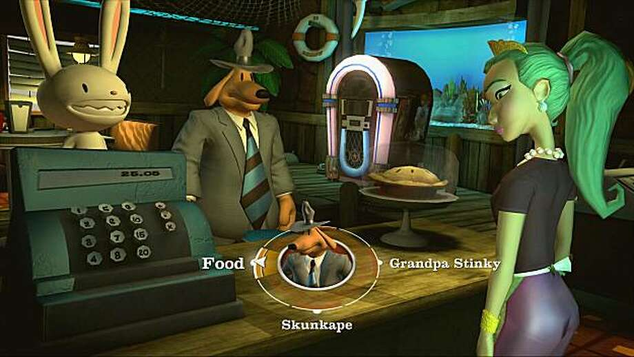 """A image of """"The Penal Zone"""" episode one from season three of Sam and Max: The Devils Playhouse, an adventure game by Telltale Games. Photo: Telltale Games"""