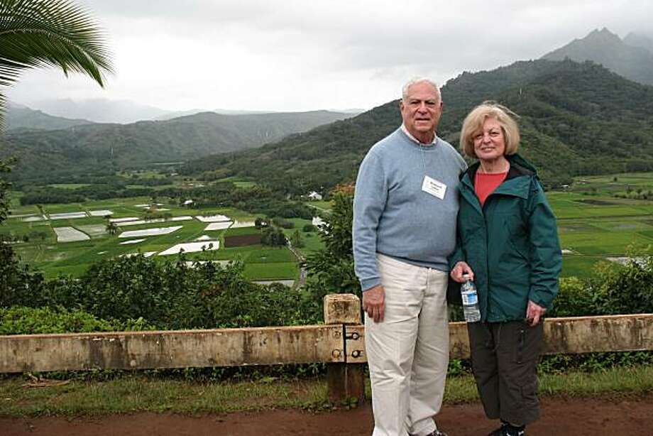 Drs. Richard and Sandra Cohen on the Island of Kuaia Photo: Courtesy, Richard And Sandra Cohen