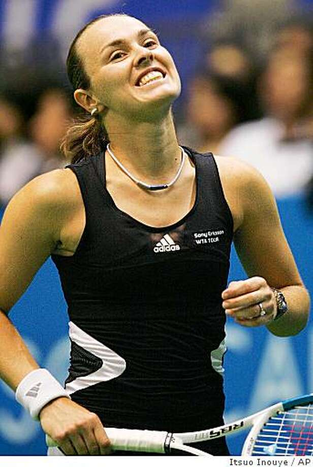 Martina Hingis to play in Mill Valley event this weekend. Photo: Itsuo Inouye, AP