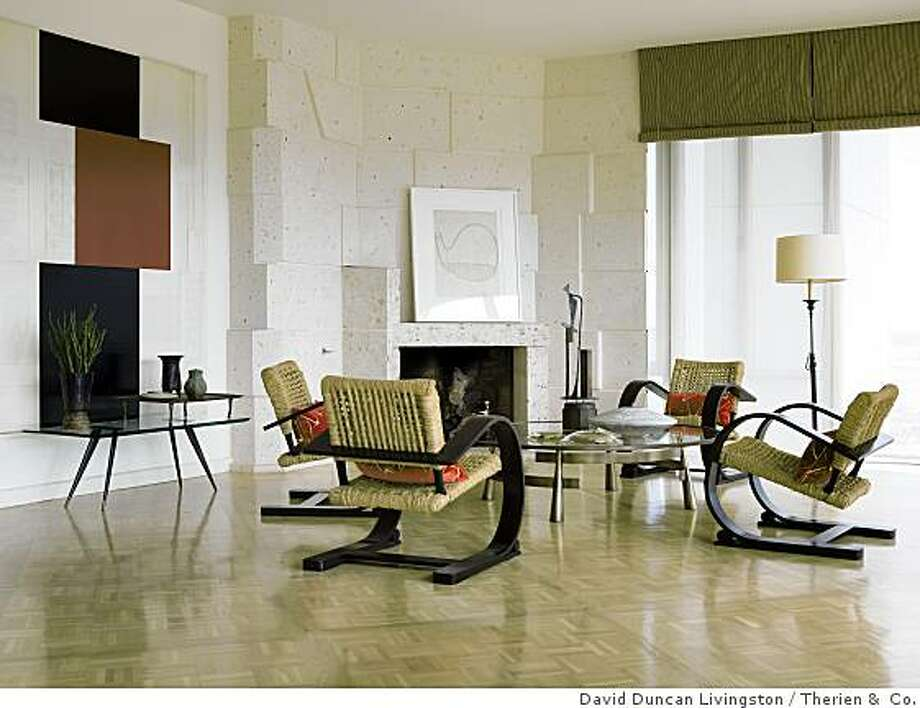 Zolezzi mixes antiques 20th century design sfgate for French furniture designers 20th century