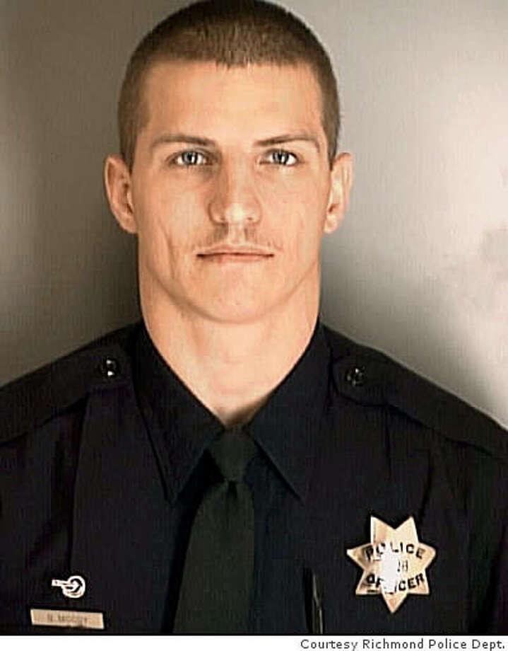 Officer Brad Moody, Richmond Police Department Photo: Courtesy Richmond Police Dept.