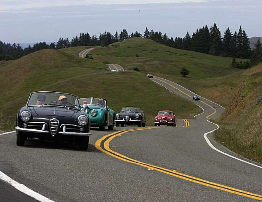 The California Mille celebrates its 20th anniversary on April 25 with a free car show atop Nob Hill. Photo: California Mille