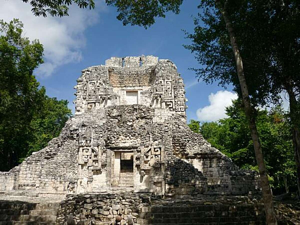 Calakmul is both a huge archaeological zone and a vast biosphere reserve that comprises about 13 percent of Campeche state's entire territory.
