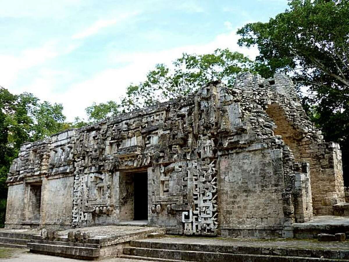 Calakmul retains its original design, with no sign of the remodeling efforts typical of most Maya buildings.