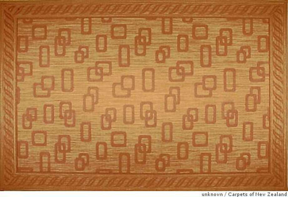 Sycamore, woven. from Carpets of New Zealand, Photo: Unknown, Carpets Of New Zealand