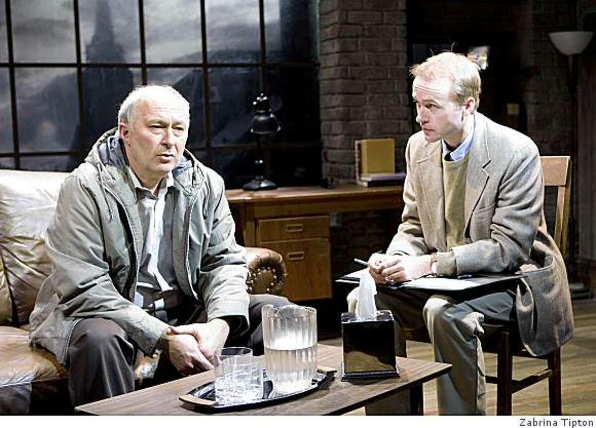 Paul Whitworth (left) and Alex Moggridge in Conor McPherson's