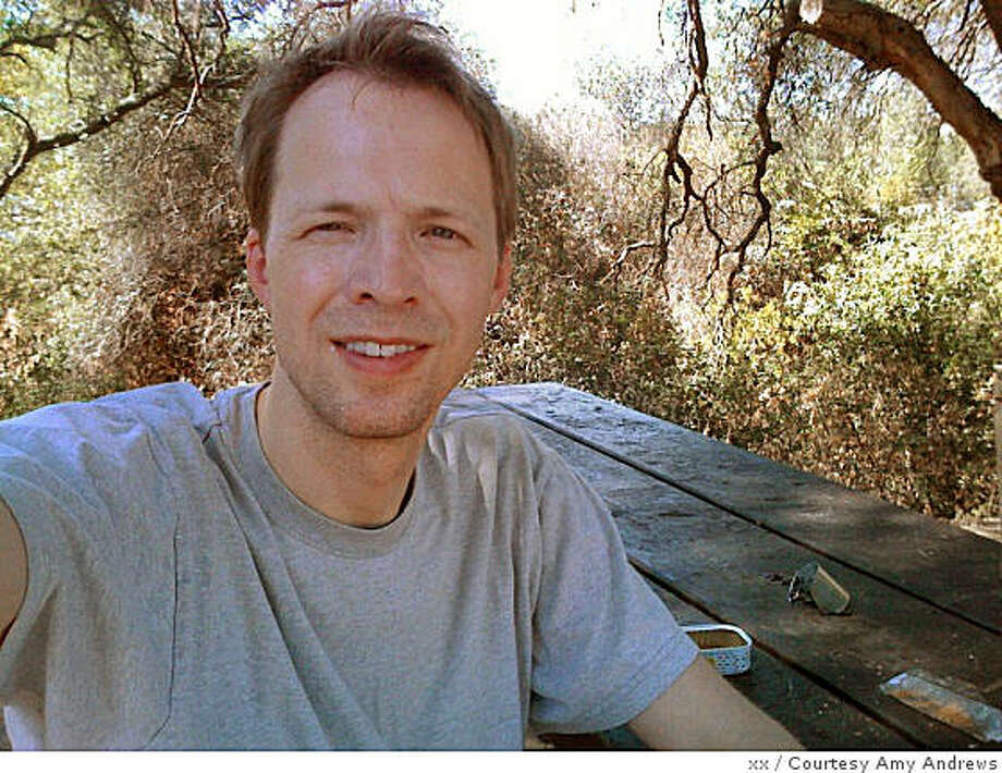 Christopher Andrews of Hillsborough, found dead Oct. 6 in the Emigrant Wilderness where he was trapped by a snowstorm while on a hike. Photo: Xx, Courtesy Amy Andrews