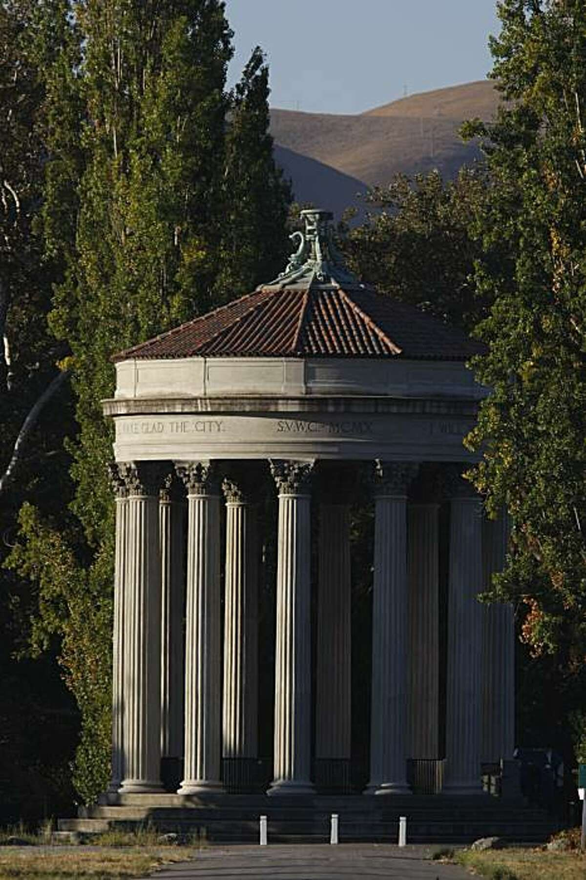 The Water Temple at the Sunol Water Temple Agricultural Park.