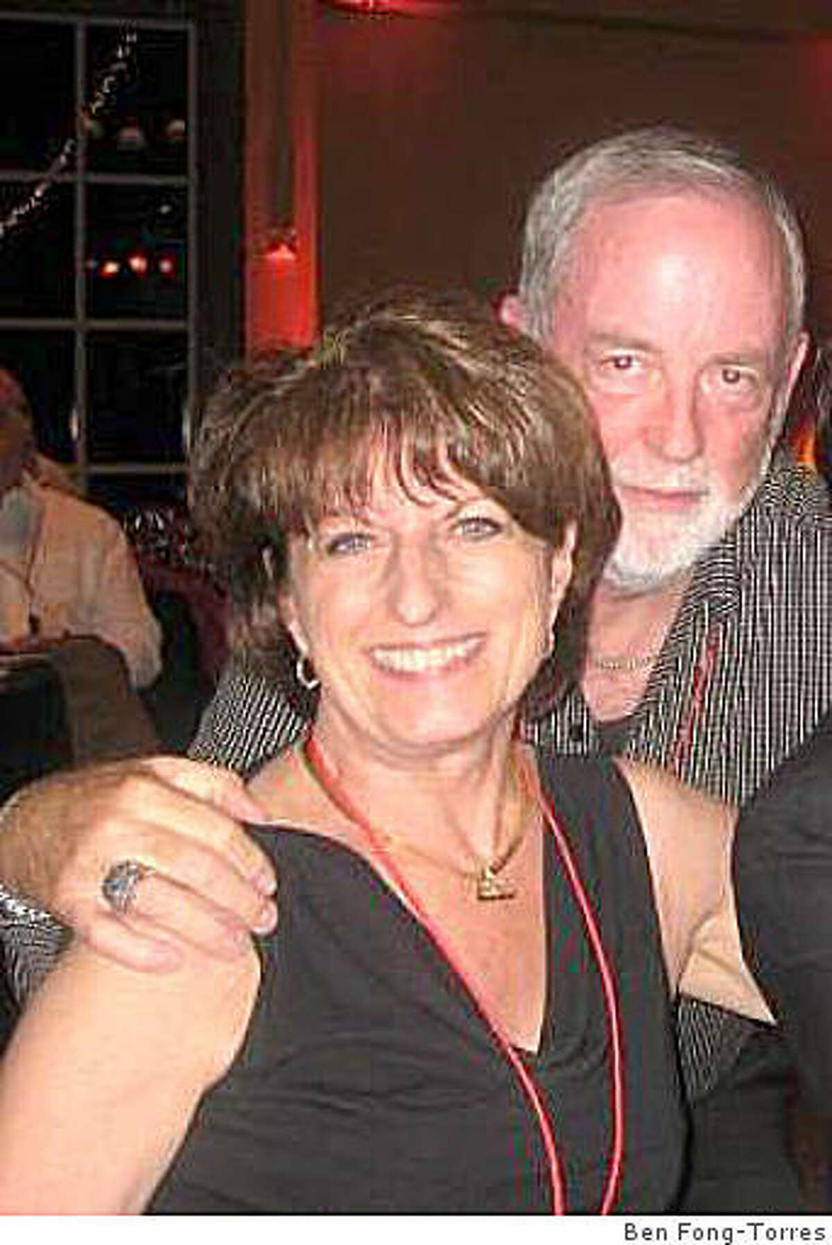 Pam Hamilton and her husband Pete Lewis