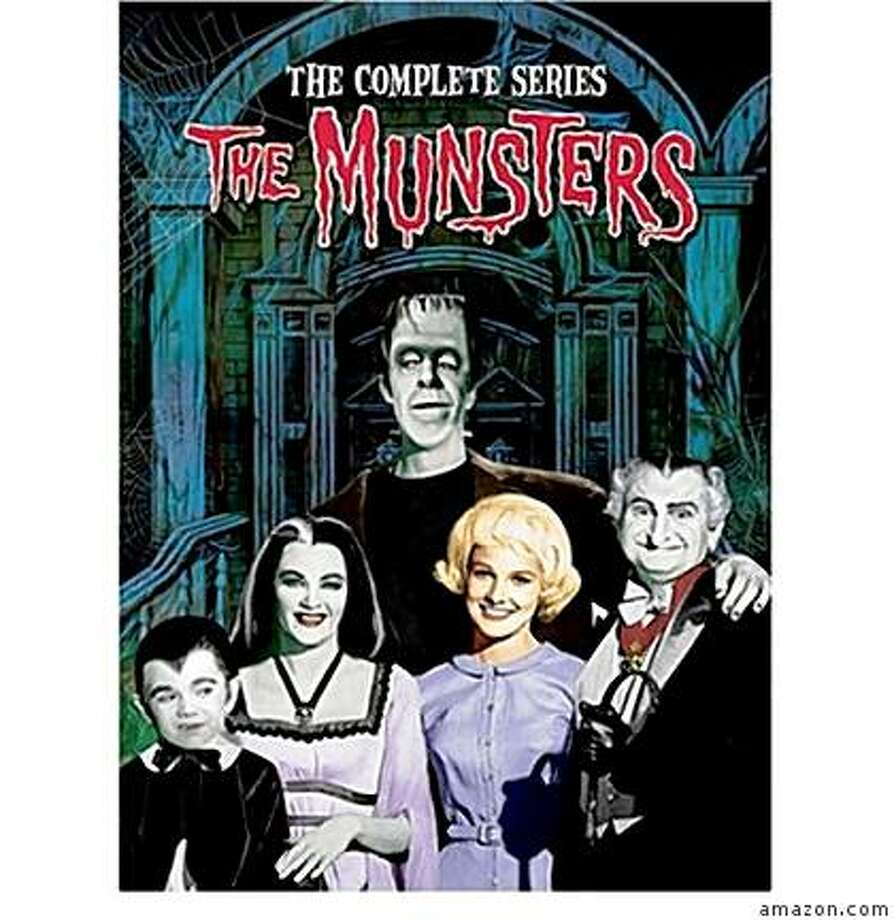 dvd cover THE MUNSTERS: THE COMPLETE SERIES Photo: Amazon.com