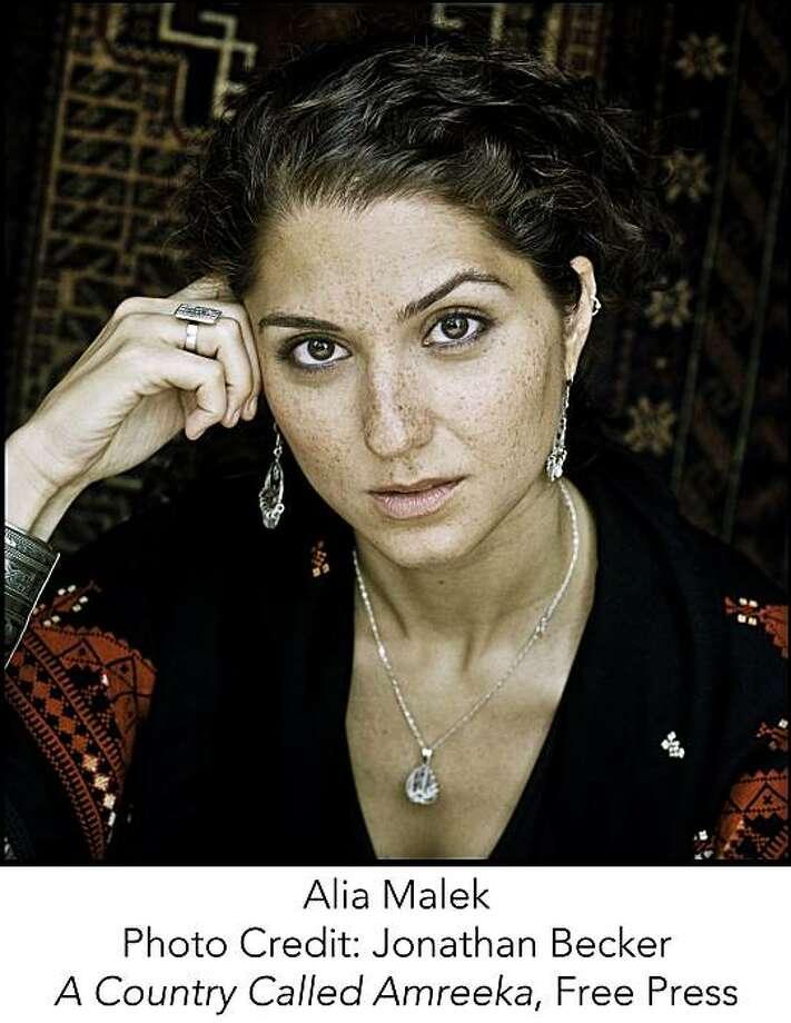 "Alia Malek, auhor of ""a country called amreeka"" Photo: Jonathan Becker, Free Press"