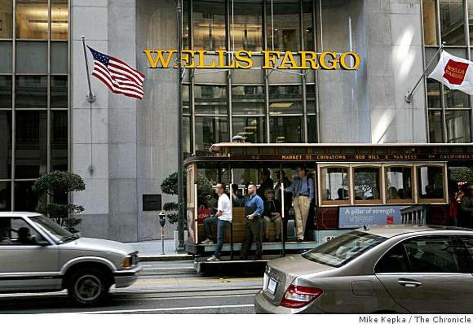 Wells Fargo Citi Dial Down Wachovia Fight Sfgate