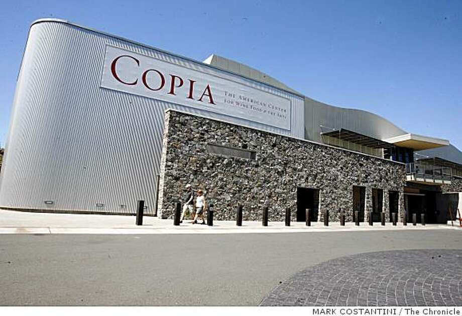 Exterior of Copia in Napa. Photo: MARK COSTANTINI, The Chronicle