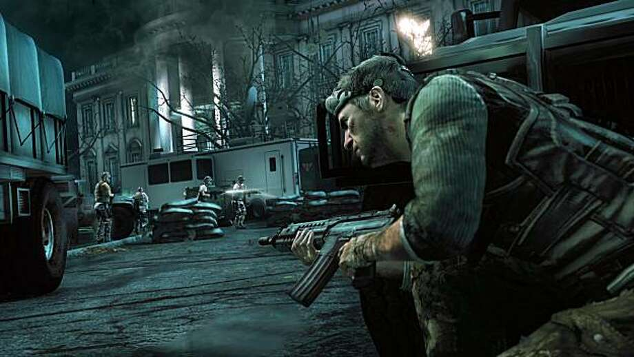 "And, finally, Tom Hardy (""Inception,"" ""The Dark Knight Rises"") will take the lead role in the film version of ""Splinter Cell."" Photo: Ubisoft"