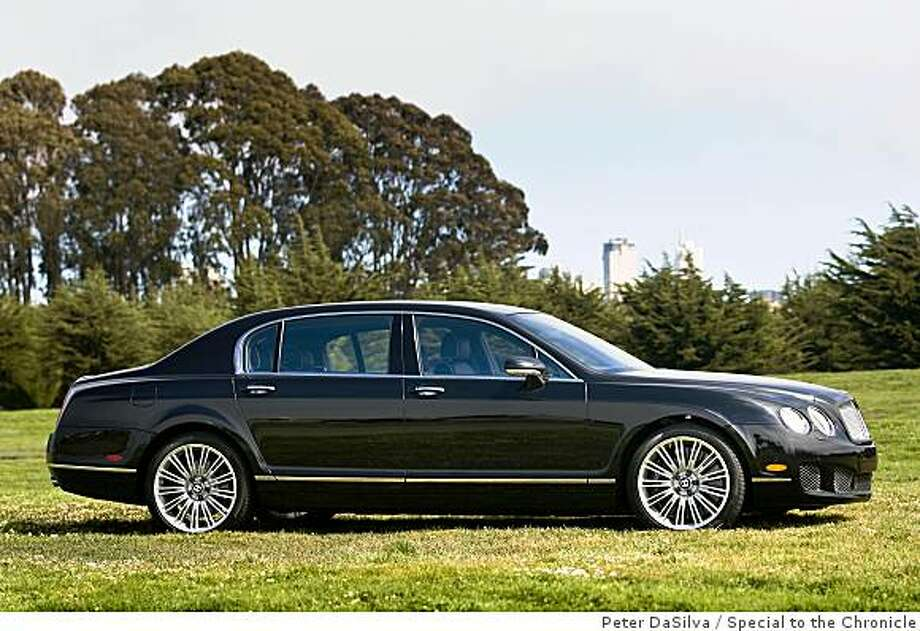 Bentley Motors Continental Flying Spur Speed, seen here at Crissy Field in San Francisco, California, Aug. 21, 2008.Photo By: Peter DaSilva Special to the Chronicle Photo: Peter DaSilva, Special To The Chronicle