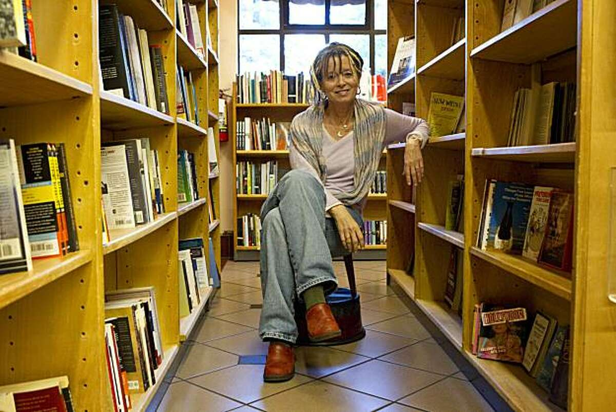 """Anne Lamott's newest novel """"Imperfect Birds"""" is about a Marin family trying to deal with their high school daughter who has a secret prescription drug problem. Lamott read from the novel at The Depot Bookstore in Mill Valley, Calif., on Monday, April 12, 2010."""