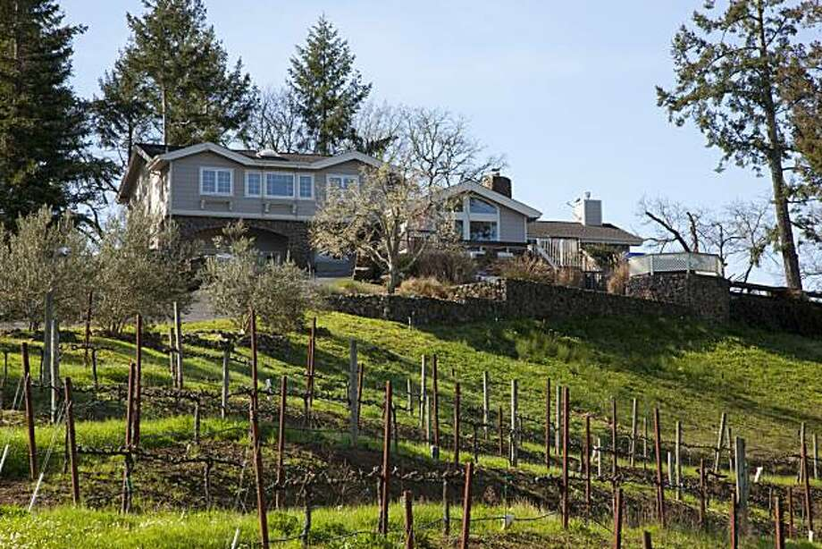 1333 Jack Pine Road in Healdsburg includes 11 acres, a gated entrance, private drive and overlooks the Dry Creek Valley. At 4,000 square feet, it has three bedrooms and three bathrooms. It's listed for $2.995 million. Photo: Beth Bruno, Frank Howard Allen Realtors