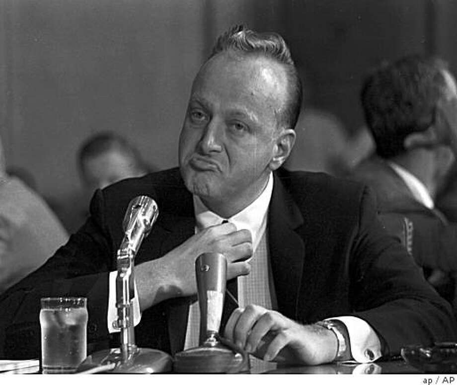 "..: ** FILE ** Frank ""Lefty"" Rosenthal sits at a witness table before the Senate Investigations Subcommittee, Sept. 8, 1961 in Washington during a probe of organized gambling. Las Vegas is building a museum about some of its founding fathers and most influential figures _ guys with names like Bugsy, Lefty and Lansky. (AP photo)Ran on: 12-16-2007Benjamin &quo;Bugsy&quo; Siegel, a Las Vegas pioneer, opened the Flamingo Hotel on the fledgling Vegas Strip in 1946, and was killed six months later in Beverly Hills  --  perhaps because he angered the mob with cost overruns on the hotel.Ran on: 12-16-2007Benjamin &quo;Bugsy&quo; Siegel, a Las Vegas pioneer, opened the Flamingo Hotel on the fledgling Vegas Strip in 1946, and was killed six months later in Beverly Hills  --  perhaps because he angered the mob with cost overruns on the hotel.Ran on: 10-03-2008Frank &quo;Lefty&quo; Rosenthal appears before a Senate committee during a 1961 probe of organized crime, an era that will be a focus of the museum. ** FILE ** Frank ""Lefty"" Rosenthal sits at a witness table before the Senate Investigations Subcommittee, Sept. 8, 1961 in Washington during a probe of organized gambling. Las Vegas is building a museum about some of its founding fathers and most influential figures _ guys with names like Bugsy, Lefty and Lansky. (AP photo) Ran on: 12-16-2007 Photo: Ap, AP"