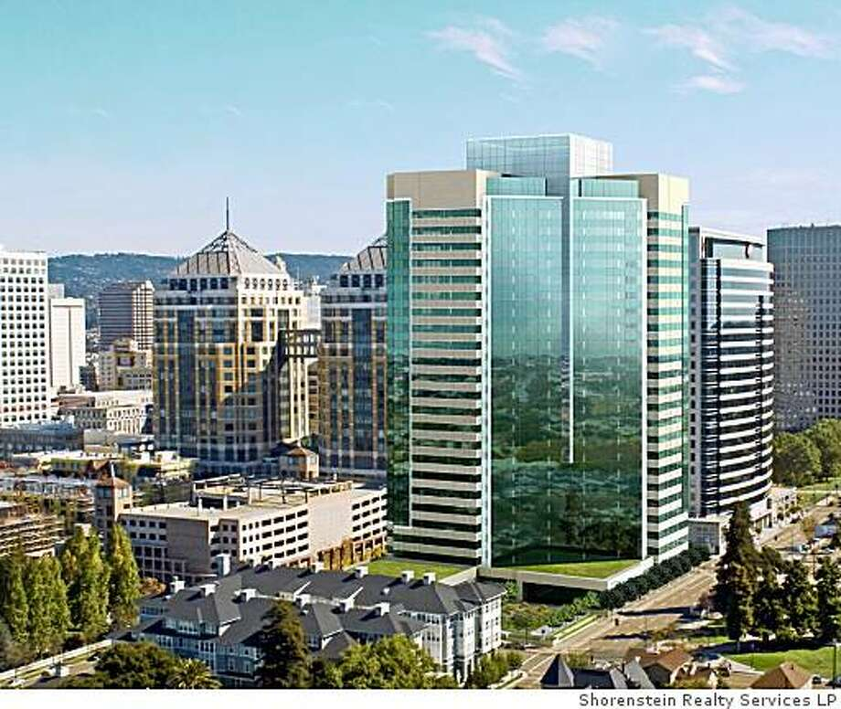 Located in the heart of Oakland's bustling downtown business district, 601 City Center will provide an ideal location for conducting business in the San Francisco Bay Area. Photo: Shorenstein Realty Services LP
