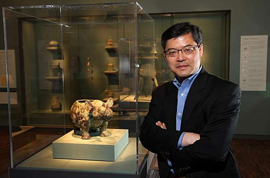 Jay Xu, director of the Asian Art Museum since June 2008 Photo: Michael Chinnavaso, Asian Art Museum, S.F.