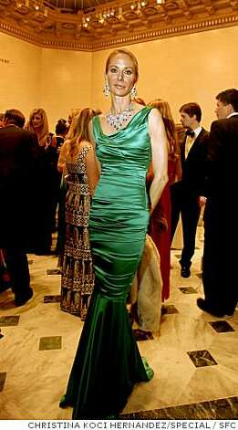 "Angelique Griepp, wearing jewelry by ""Rosalina,"" attends the Mid-Winter Gala hosted by the Fine Arts Museums at the Legion of Honor in San Francisco, Calif. on Saturday, March 15, 2008.Christina Koci Hernandez / Special to the Chronicle Photo: CHRISTINA KOCI HERNANDEZ/SPECIAL, SFC"