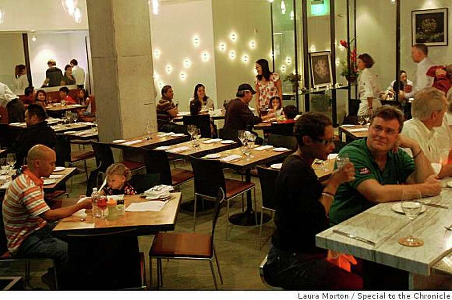 The Moss Room, a new restaurant in the California Academy of Sciences, in San Francisco, Calif., on Saturday, September 27, 2006. Photo: Laura Morton, Special To The Chronicle