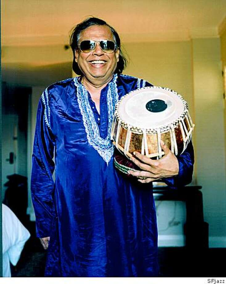 Badal Roy, tabla player, percussionist, and recording artist known for his work in jazz, world music, and experimental music. Photo: SFjazz