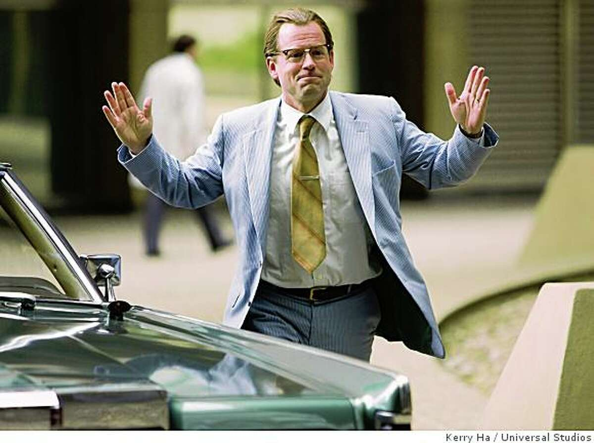 """Greg Kinnear in """"Flash of Genius"""" (2008).GREG KINNEAR as brilliant inventor Dr. Robert Kearns in the drama that tells the true inspirational story of one man?s decades long battle with the U.S. automobile industry: ?Flash of Genius?."""