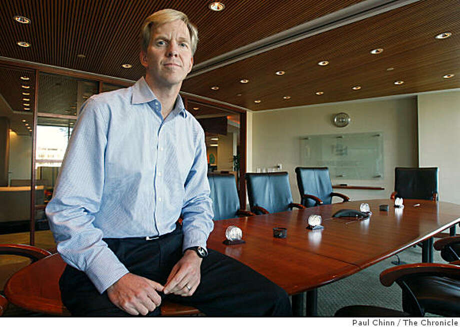 Gordon Ritter, founding general partner of Emergence Capital Partners, is seen at his office in San Mateo, Calif., on Thursday, Sept. 25, 2008. Ritter's venture capital firm funds web-based software sites and companies. Photo: Paul Chinn, The Chronicle