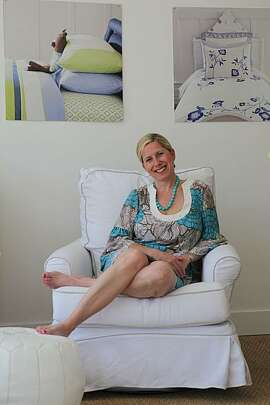 Lily Kanter, co-founder of Serena & Lily, a bedding and furniture business in Sausalito, Calif., on Friday, April 9, 2010.  Kanter has 18 years in business and technology experience and has held management positions for Microsoft, Deloitte & Touche, and IBM.