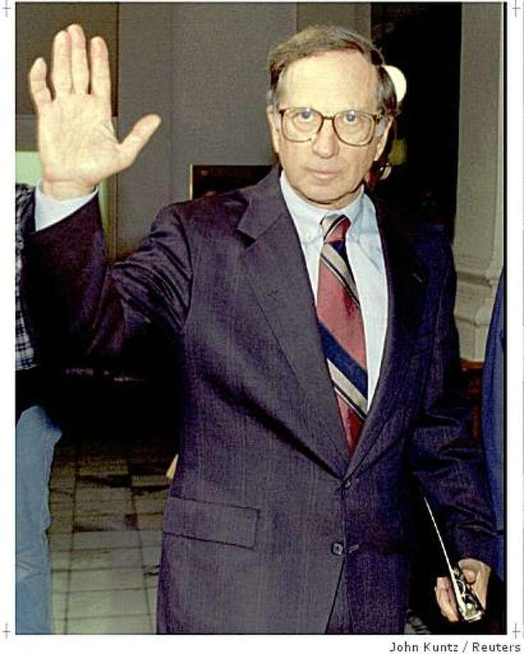 Former U.S. Sen. Sam Nunn (D) from Georgia Photo: John Kuntz, Reuters