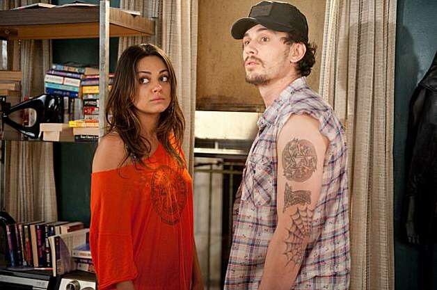 "The unconventional Whippit (Mila Kunis, left) and Taste (James Franco) are about to have a very strange encounter with a married couple on a date night in 20th Century Fox's, ""Date Night."" (Suzanne Tenner/Courtesy 20th Century Fox/MCT) Photo: Handout, MCT"