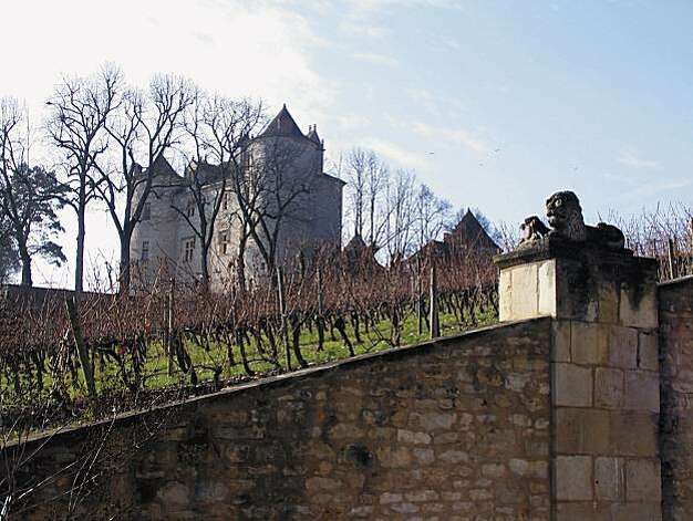 The Chateau Lagrezette overlooks the Cahors region, birthplace of Malbec.