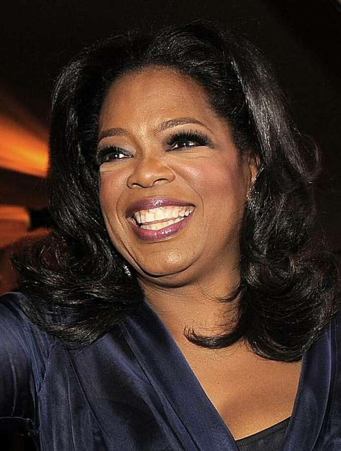 FILE - In this March 7, 2010 file photo, Oprah Winfrey is shown at the Governors Ball following the the 82nd Academy Awards in the Hollywood section of Los Angeles. Photo: Chris Pizzello, AP