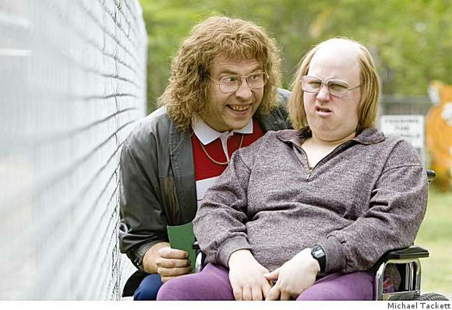 LITTLE BRITAIN USA: David Walliams as Lou, Matt Lucas as Andy. Photo: Michael Tackett