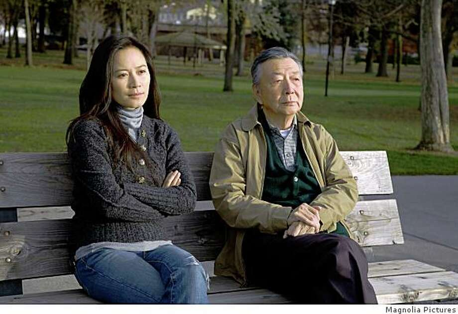 "Faye Yu and Henry O in Wayne Wang's  ""A Thousand Years of Good Prayers"" (2008) Photo: Magnolia Pictures"