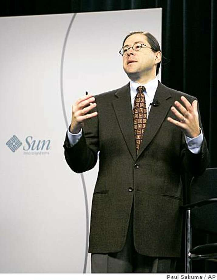 Sun Microsystems Inc. Chief Executive Officer Jonathan Schwartz received an $11.1 million pay package in the server and software company?s most recent fiscal year. Photo: Paul Sakuma, AP