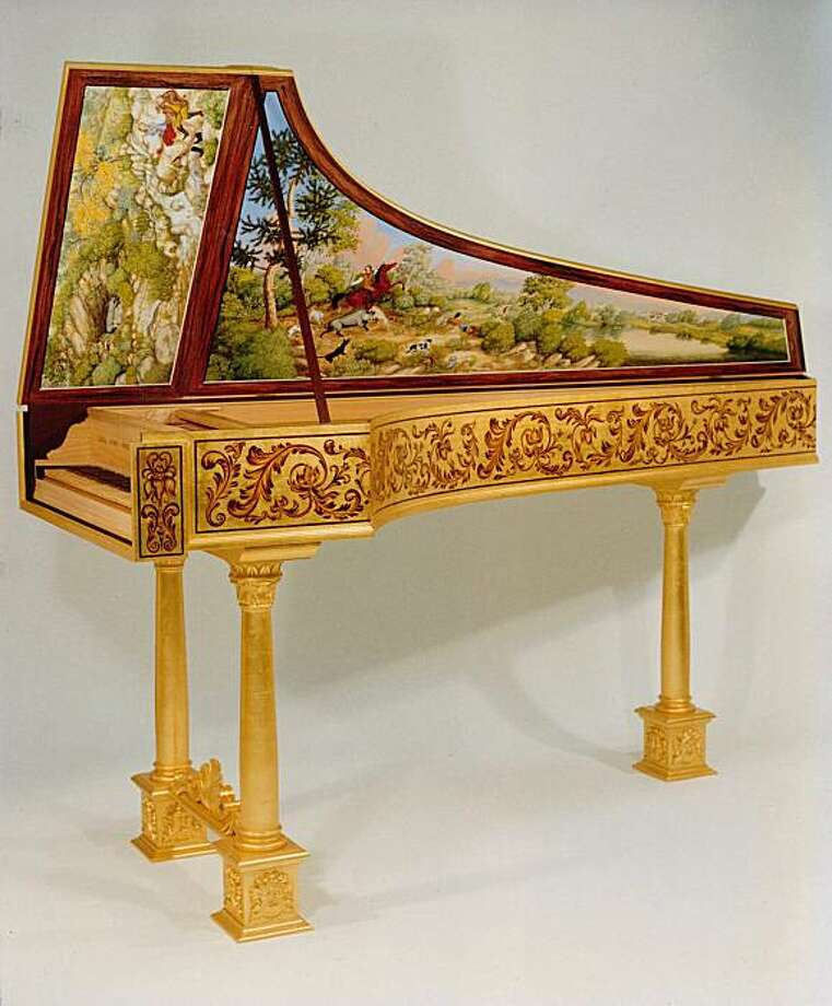 ?Goldilocks? ? the special harpsichord  Photo credit: John Phillips Photo: John Phillips