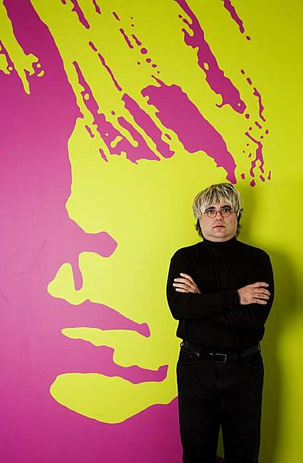 "Josh Kornbluth start in ""Andy Warhol: Good for the Jews?""  April 11-May 16 at the Jewish Theatre  San Francisco, 470 Florida St., San Francisco. Photo: Www.tjt-sf.org"