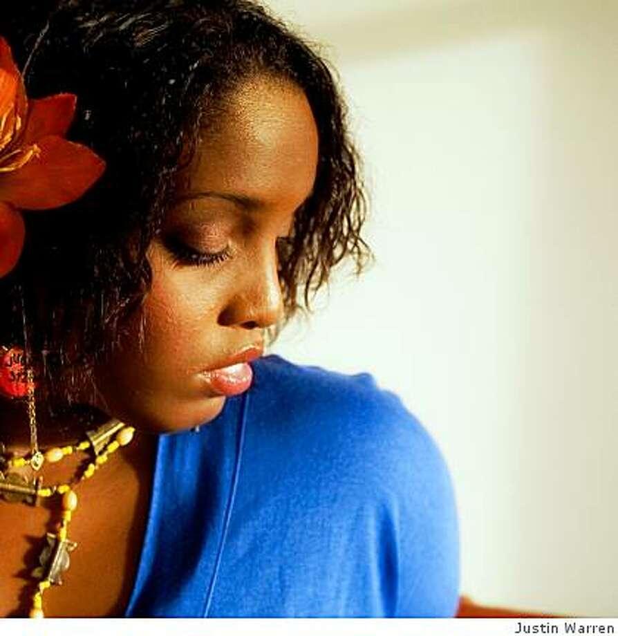 Singer Mia Zuniga Photo: Justin Warren