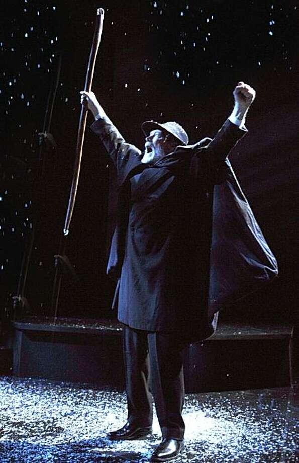 "James Carpenter in the title role of Henrik Ibsen's ""John Gabriel Borkman"" at Aurora Theatre Photo: David Allen"