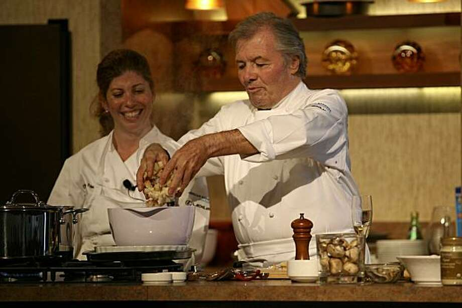 Chef Jacques Pepin Photo: Pebble Beach Food & Wine