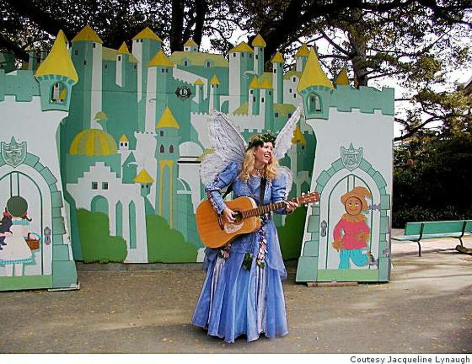 Jacqueline Lynaugh has appeared as the Blue Fairy Storyteller at Children's Fairyland for 21 years. Photo: Coutesy Jacqueline Lynaugh
