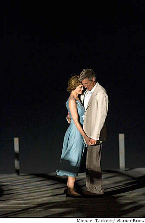 "Actors Richard Gere, right, and Diane Lane are shown in scene from ""Nights In Rodanthe."" Photo: Michael Tackett, Warner Bros."