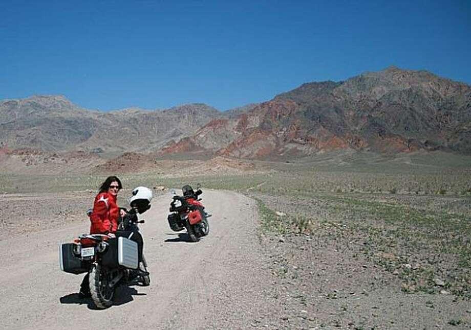 Wynne Benti, Jubilee Pass, Death Valley, circa 2010 Photo: Mark Janney