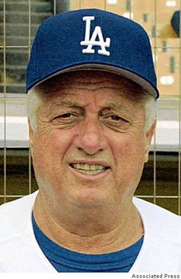 Tommy Lasorda Photo: Associated Press